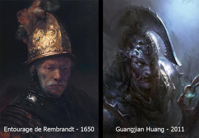 Disciple Rembrandt et Huang