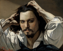 Johnny Depp as Gustave Courbet